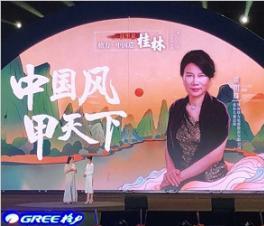 格力董明珠:希望掀起诚信、节能的中国风